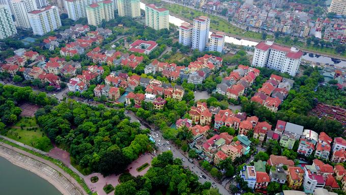 Bán đảo lớn nhất Thủ đô nhìn từ trên cao