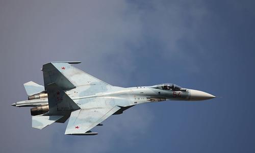 Một chiếc Su-27 Nga. Ảnh: Wikipedia.org.