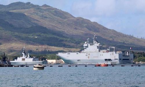 Các tàu Pháp Naval Base Guam,