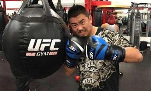 Võ sĩ MMA Từ Hiểu Đông. Ảnh: Sina