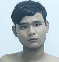Huỳnh Quốc Dũng bị bắt cùng 3 nghi can khi đang lẫn trốn sau khi đâm gục nhân viên công ty dược. Ảnh: CA.