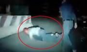 Truy đuổi cặp vợ chồng hờ trộm xe máy như phim hành động
