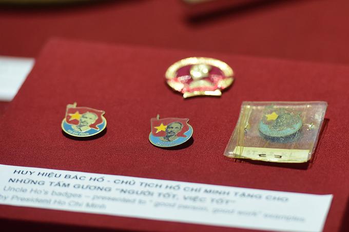 Những kỷ vật lần đầu công bố của Chủ tịch Hồ Chí Minh