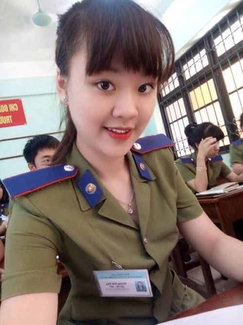 Nữ sinh Đại học Phòng cháy chữa cháy là Á khôi người mẫu ảnh