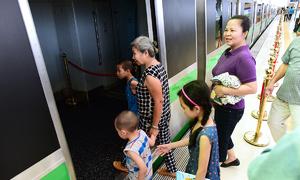 Ga La Khê đường sắt trên cao mở cửa đón người dân tham quan