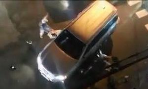 Ôtô tông liên hoàn khi bị nhóm thanh niên rượt đuổi