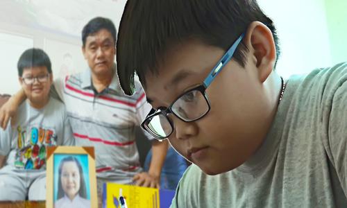 Cậu học trò lớp 5 gửi lời tri ân người mẹ đã khuất