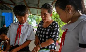 Cô giáo mở thư viện miễn phí cho học sinh ở Củ Chi