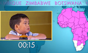 Triệu người phát cuồng bởi cậu bé kể tên các quốc gia châu Phi trong 53 giây