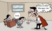 Thầy giáo nổi giận trước lời chúc phúc của học trò