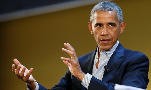 Cựu tổng thống Mỹ Barack Obama. Ảnh: Reuters.