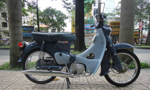 Huyền thoại Super Cub C100 nguyên bản tại Việt Nam