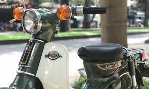 Kỷ vật 40 năm Honda Cub 'cánh én' ở Sài Gòn