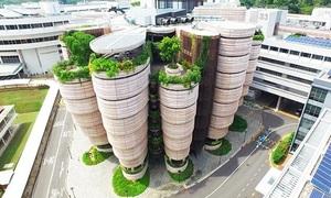 Kiến trúc đẳng cấp của đại học hàng đầu Đông Nam Á