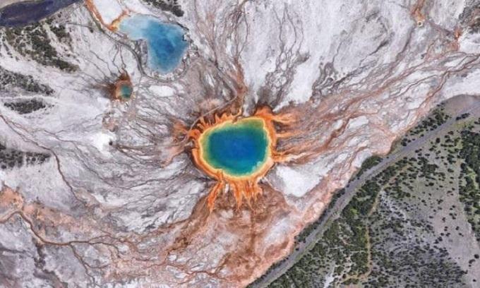 Những hình ảnh hút trí tò mò từ vệ tinh Google Earth