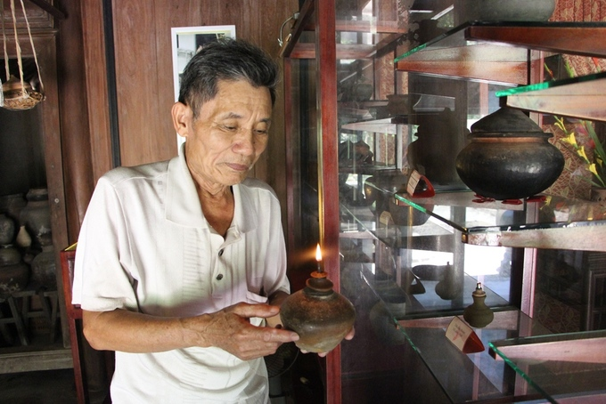 Bộ sưu tập đồ gốm của lão nông 70 tuổi