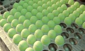 11 bước sản xuất ra quả bóng tennis
