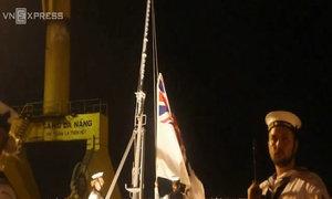 Nghi lễ hạ cờ hạm đội của Hải quân Australia