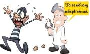 Trộm nhầm nhà nha sĩ