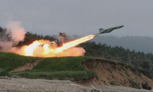 Triều Tiên sở hữu nhiều tổ hợp tên lửa chống hạm. Ảnh: Blogspot.