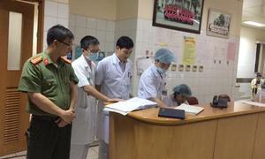 Công an thực nghiệm hiện trường vụ 8 bệnh nhân tử vong khi chạy thận