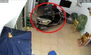 Thanh niên đột nhập nhà dân trộm xe Lead