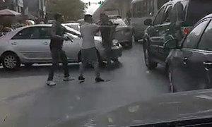 Cuộc tháo chạy trong tiếng súng của chiếc xe chở ma túy