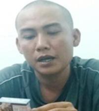 Giang thừa nhận hành vi phạm tội của mình khi bị bắt. Ảnh: CA.