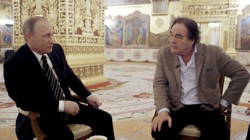 Tổng thống Nga Vladimir Putin trả lời phỏng vấn Oliver Stone.