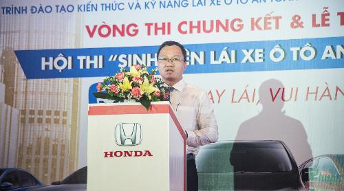 Ông Khuất Việt Hùng -Phó Chủ tịch thường trựcỦy ban An toàn Giao thông Quốc gia