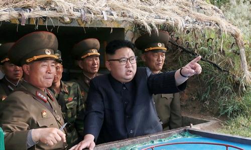Nhà lãnh đạo Triều Tiên Kim Jong-un. Anh: Reuters/KCNA.
