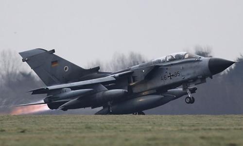 Phi cơ Tornado của Đức. Ảnh: Daily Sabah.