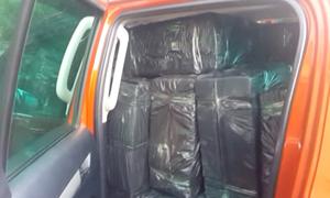 1.000 bánh cần sa chất kín ôtô đưa về Việt Nam