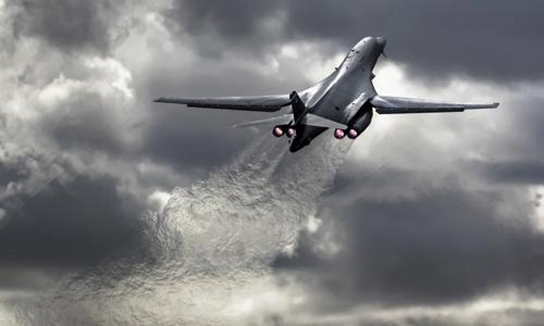 Oanh tạc cơ chiến lược B-1B của Mỹ. Ảnh: Pinterest