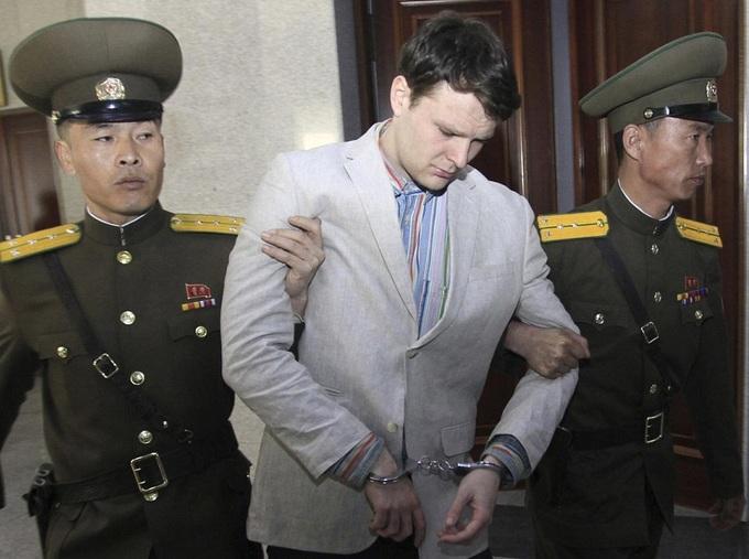 4 ngày tự do cuối cùng của Warmbier ở Triều Tiên