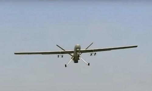 Máy bay không người lái Shahed-129. Ảnh: Sima News.
