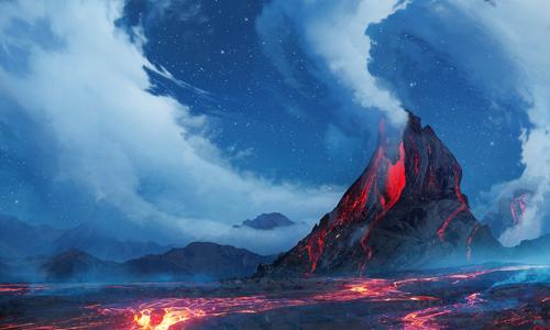 Các nhà khoa học cho rằng chuỗi phun trào núi lửa gây ra sự kiện đại tuyệt chủng, mở đường cho khủng long trỗi dậy. Đồ họa: Conversation.