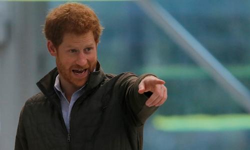 Hoàng tử Harry. Ảnh: Reuters.