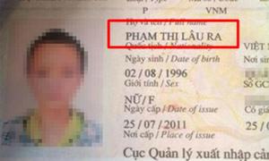 Những tên khai sinh 'bá đạo' nhất Việt Nam