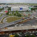 Cầu vượt chữ Y vào sân bay Tân Sơn Nhất trước ngày thông xe