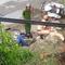 Xe máy kẹp ba tông xe cảnh sát, 5 người bị thương
