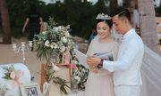Đám cưới bạc tỷ bên bờ biển của bà mẹ hai con