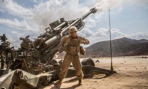 Pháo hạng nặng Mỹ trút hỏa lực xuống sào huyệt IS ở Syria