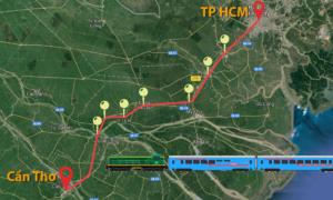 10 nhà ga trên tuyến đường sắt TP HCM - Cần Thơ