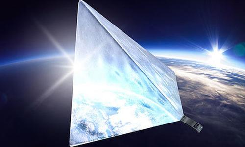 Đồ họa vệ tinh Mayak trên quỹ đạo Trái Đất. Ảnh: Mayak.