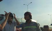 4 thanh niên chặn đầu ôtô gây gổ sau khi tài xế rút tiền ATM