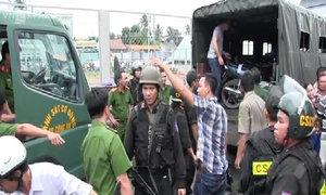 Sòng bạc trong biệt thự ở Sài Gòn bị cảnh sát bao vây