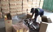 Container chứa thuốc lá châu Âu bị bắt khi quá cảnh ở Sài Gòn