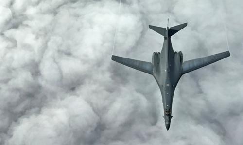 Oanh tạc cơ B-1B của Mỹ. Ảnh: Reuters.