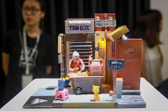 Giới trẻ thích thú triển lãm 'Sài Gòn 3 mét vuông'